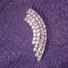 Flashy Rhinestone Vintage Pin - ALL PRICES INCLUDE SHIPPING