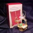 Hallmark Keepsake Ornament Basket of Joy 2003 MIB -FREE SHIPPING