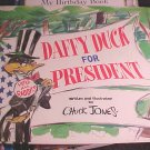Daffy Duck For President Book Children's