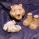 Awesome BEAR Doll Head & Paw Crafting Parts