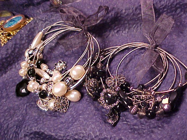 Whimsical & Charming Bangle Charm Bracelets ~ 14