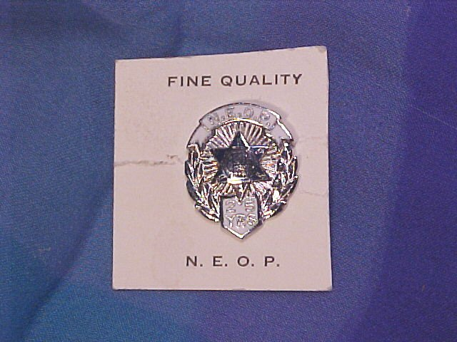 New England Order of Protection Woodsmen Fraternal Medal NEW