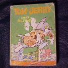 Tom and Jerry Meet Mr Fingers Big Little Book series. Whitman No. 5752
