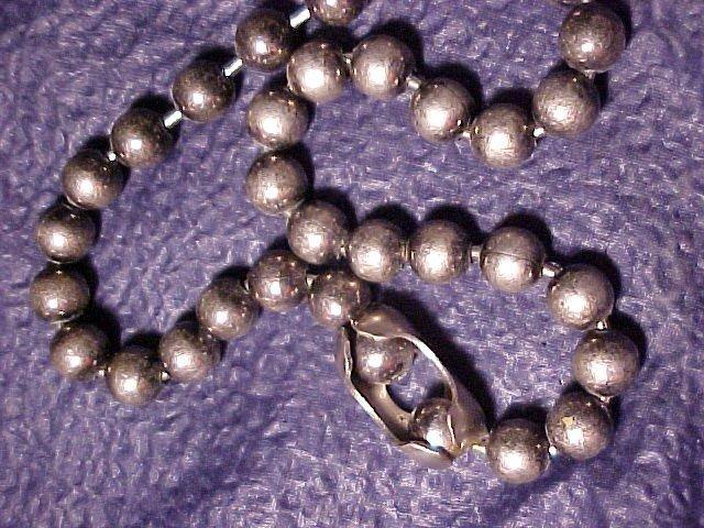 Retro 1960's Bead Hippy Necklace