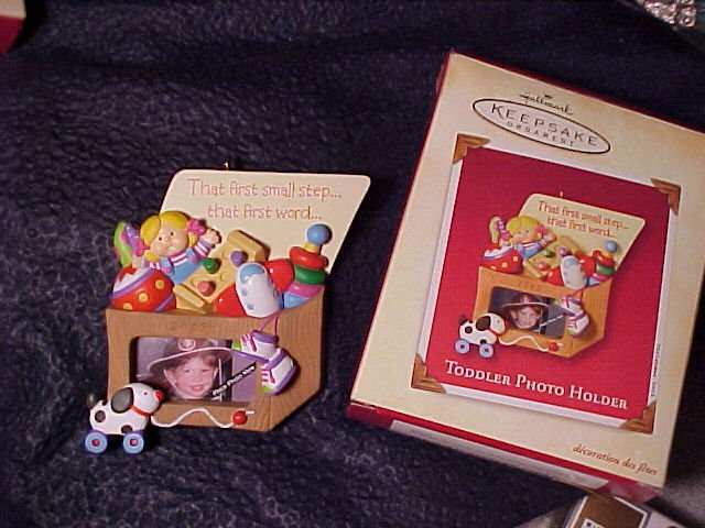 Child Toybox Hallmark Keepsake Ornament 2002 MIB