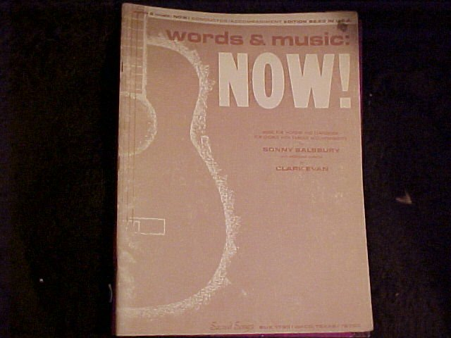 Sonny Salsbury Clark Evan Songs to Worship by Music Book - Free shipping
