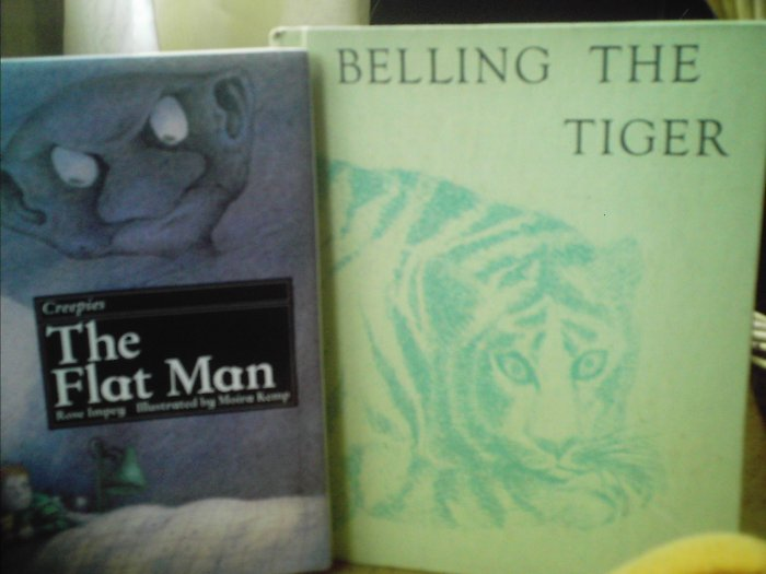 Creepies The Flat Man and Belling the Tiger