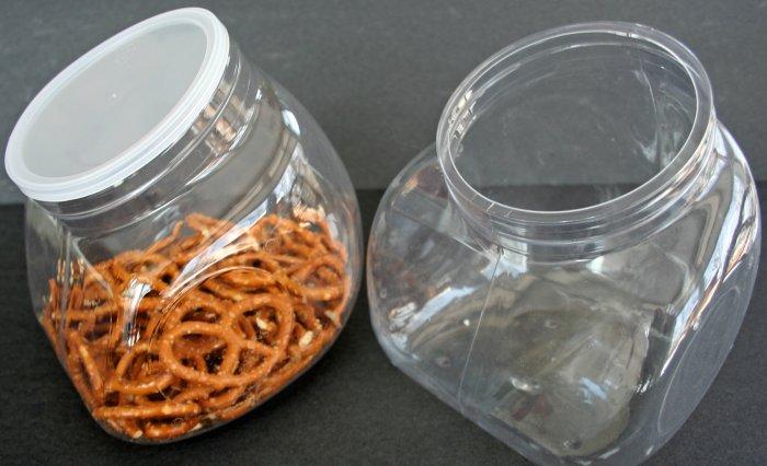 Plastic Cookie Jar (24) Storage Containers