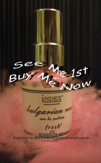 FRESH INDEX CHRONICLES f21c BULGARIAN ROSE PERFUME 5ml edp Discontinued/Retired 1997 fragrance
