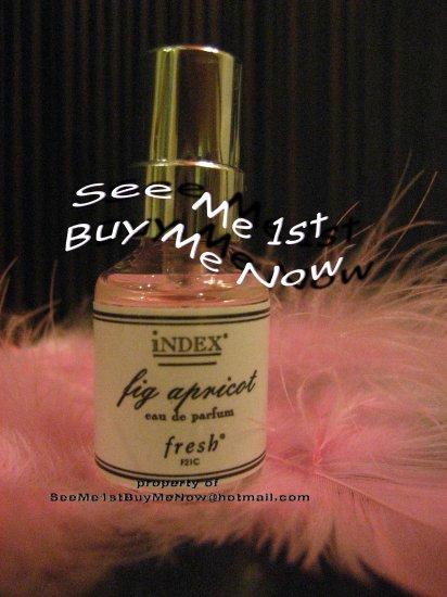 original FIG APRICOT f21c FRESH Index Chronicles 5ml Perfume Spray miniature retired fragrance