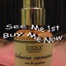 FRESH f21c iNDEX Eau de Parfum Chronicles TOBACCO CARAMEL Perfume Spray Retired/Hard-to-Find