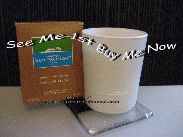 BOIS DE FILAO Comptoir Sud Pacifique CSP Candle - Patchouli / Citrus / Papyrus Resin - NEW!