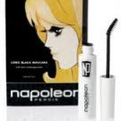 Long Black Mascara NAPOLEON PERDIS Natural Beeswax Fortify Eyelashes ~ bent wand DOUBLE BLACK