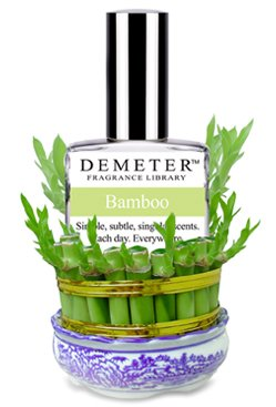 Demeter Fragrance Library BAMBOO Pick-Me Up COLOGNE SPRAY Crisp Green-Slightly Fruity-Refreshing