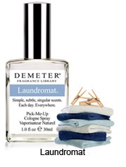 LAUNDROMAT Demeter Fragrance Library Pick-Me Up COLOGNE SPRAY Fresh~Clean Laundry Scent!