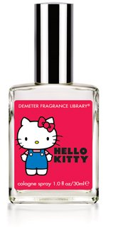 HELLO KITTY Demeter Fragrance Library Pick-Me Up COLOGNE SPRAY red-yellow-green APPLES!