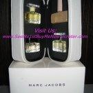 MARC JACOBS deluxe miniature collection WOMENS MENS PERFUME Essence BLUSH  4-piece SET mini travel