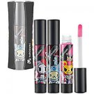 TOKIDOKI Roulette Gloss Trio LION PAPA adieu BRUTTINA Pinks Purples Mini Non-Sticky Lip Gloss