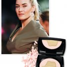Lancome Paris KATE WINSLET Golden Hat 001 Face Foundation ILLUMINATING SMOOTH POWDER Mirror Compact