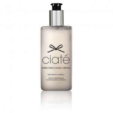 Ciaté GRAPEFRUIT VERBENA Enriching Hand Nail Cream SHEA BUTTER ALMOND OIL moisturing CIATE