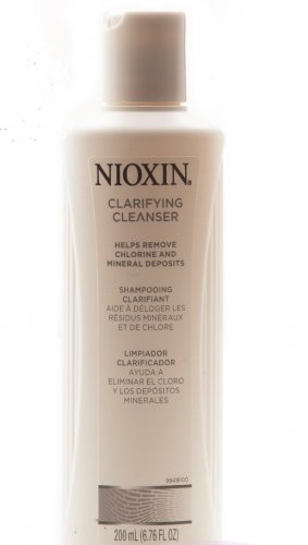 Nioxin CLARIFYING CLEANSER Shampoo Removes Chlorine/Mineral Deposits/Swimmers Hair Care
