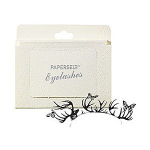 PAPERSELF eyelashes � DEER & BUTTERFLY � Temporary Costume Dramatic Paper Art False Lashes