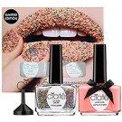 Ciaté TUTTI FRUTTI CAVIAR MANICURE Hoopla Pink Polish/Rainbow Caviar Pearls/Funnel NAIL SET ciate