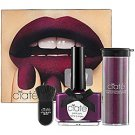 ciate BERRY PONCHO VELVET MANICURE deep plum purple Cabaret 046 Polish/Crushed Powder/Brush NAIL SET