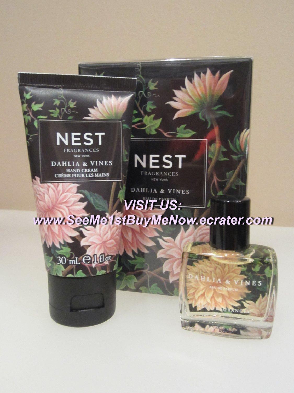 daffodil/peony/rose � NEST Fragrances � DAHLIA & VINES Eau de Parfum EDP & Hand Cream SET