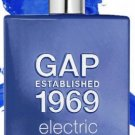 GAP Established 1969 Man/Homme ELECTRIC Eau de Toilette Spray woods Black Pepper patchouli 2013