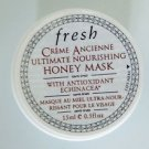 fresh inc CREME ANCIENNE ULTRA NOURISHING HONEY MASK rinse-off face facial NEW travel trial 15mL