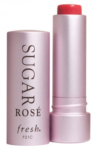 fresh f21c SUGAR ROSE TINTED LIP TREATMENT SPF 15 Moisturize Protect Sheer Hint of Color Balm