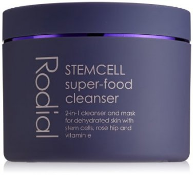 Rodial STEMCELL SUPER-FOOD 2-in-1 CLEANSER MASK dehydrated dry skin Stem Cell Rose Hip Vitamin E