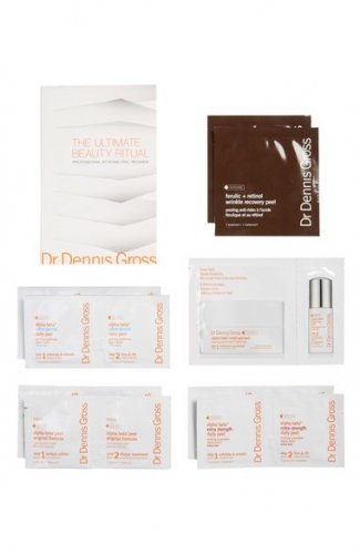DR DENNIS GROSS Ultimate Beauty Ritual AT-HOME SKIN PEEL Ferulic Retinol Alpha Beta FACE BODY