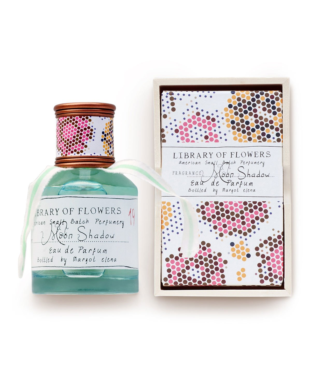 Margot Elena LIBRARY OF FLOWERS Retired Fragrance MOON SHADOW Eau de Parfum water lily Lotus jasmine
