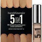 bareMinerals 5-in-1 BB Advanced Performance Cream Eyeshadow SPF 15 shadow BARELY NUDE bare minerals
