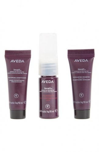 AVEDA Invati EXFOLIATING SHAMPOO Scalp Revitalizer THICKENING CONDITIONER Thinning Hair Solutions