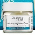 Christophe Robin CLEANSING PURIFYING SCRUB SEA SALT Hair Scalp Detox Clarifying Treatment Paste