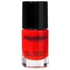 NAPOLEON PERDIS Australia NAIL POLISH in True Classic Bold RED CORVETTE fingernail laquer