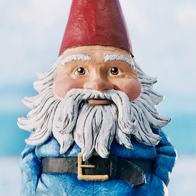 """travelocity You'll Never Roam Alone hands in pocket Standing 9"""" GNOME desk Garden kitchen Home"""
