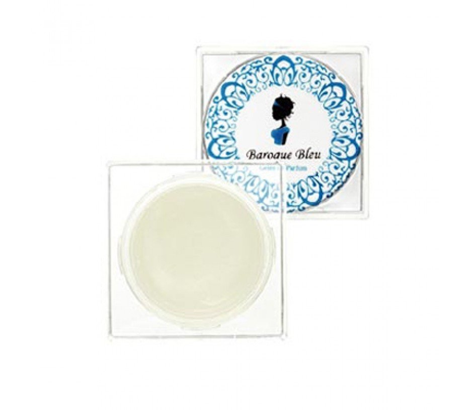 Stacked Style BAROQUE BLEU Fragrance PERFUMED Body Hair GEL gardenia Coconut rhubarb SOLID PERFUME