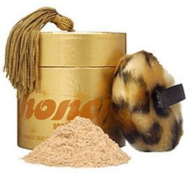 Urban Decay ORIGINAL Tastes Looks Attracts Like HONEY Scented Flavored BODY POWDER Gold DUST