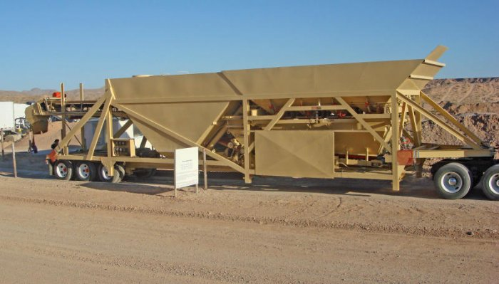 Ross 130 Yard Precast Low Profile Batch Plant