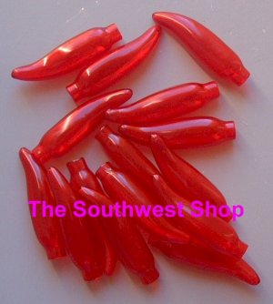Chili Pepper Light Covers, Red
