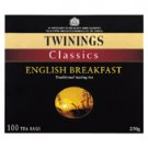 Twinings English Breakfast tea bags x 100