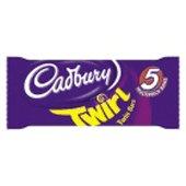 Cadbury Twirl bars pack of five chocolate from the UK