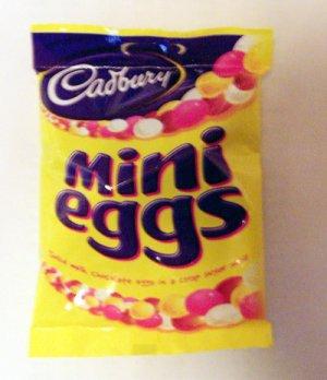 Cadbury's Mini Eggs, Easter, 100g Chocolate filling, UK