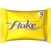 9 x pack of Cadbury's Flake chocolate, 230g, from theUK