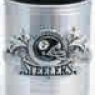 Steelers Silver Can Cooler