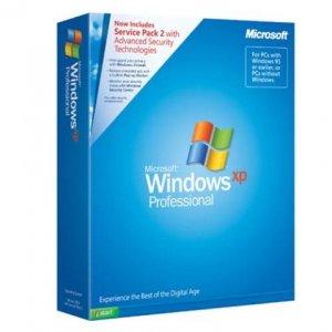 Microsoft Windows XP Professional SP2 Retail Box